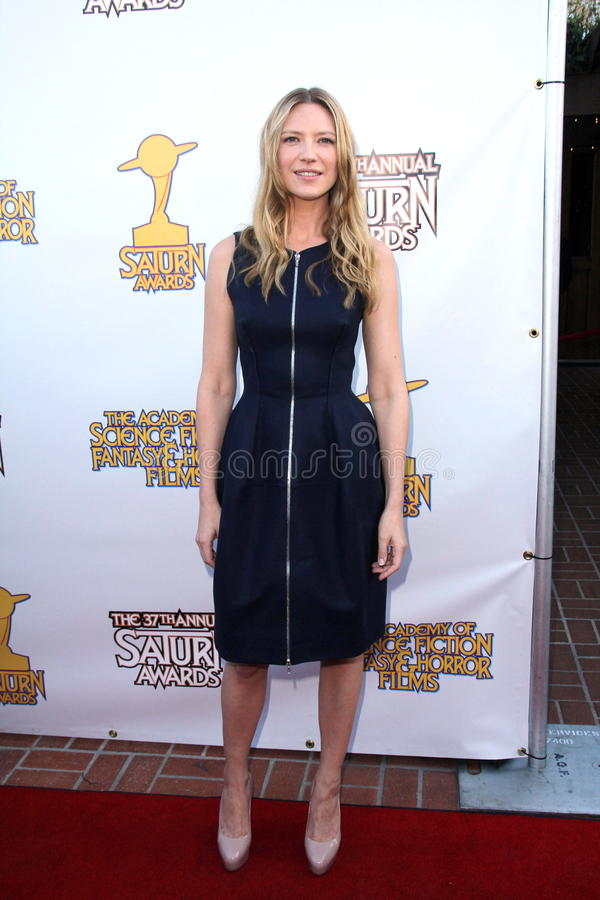 Anna Torv. At the 37th Annual Saturn Awards, Castaway, Burbank, CA. 06-23-11 royalty free stock image
