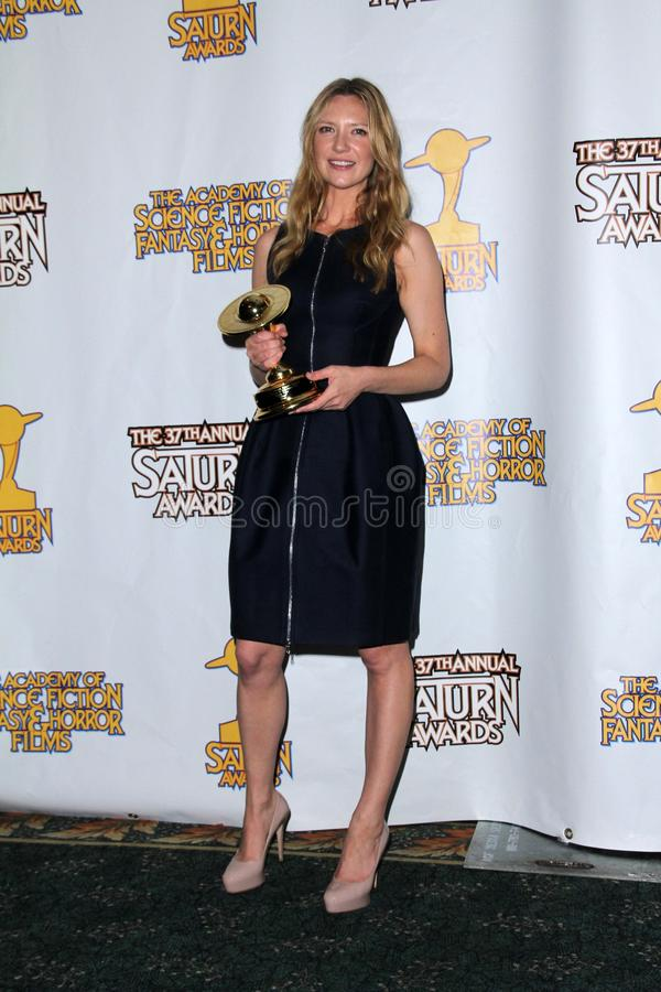 Anna Torv. At the 37th Annual Saturn Awards Press Room, Castaway, Burbank, CA. 06-23-11 stock photo