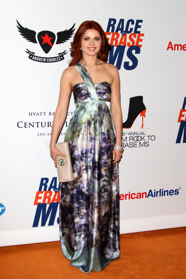 Download Anna Trebunskaya Arrives At The 19th Annual Race To Erase MS Gala Editorial Photography - Image: 25274927
