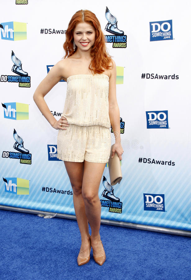 Anna Trebunskaya. At the 2012 Do Something Awards held at the Barker Hangar in Los Angeles, United States, 190812 stock photo