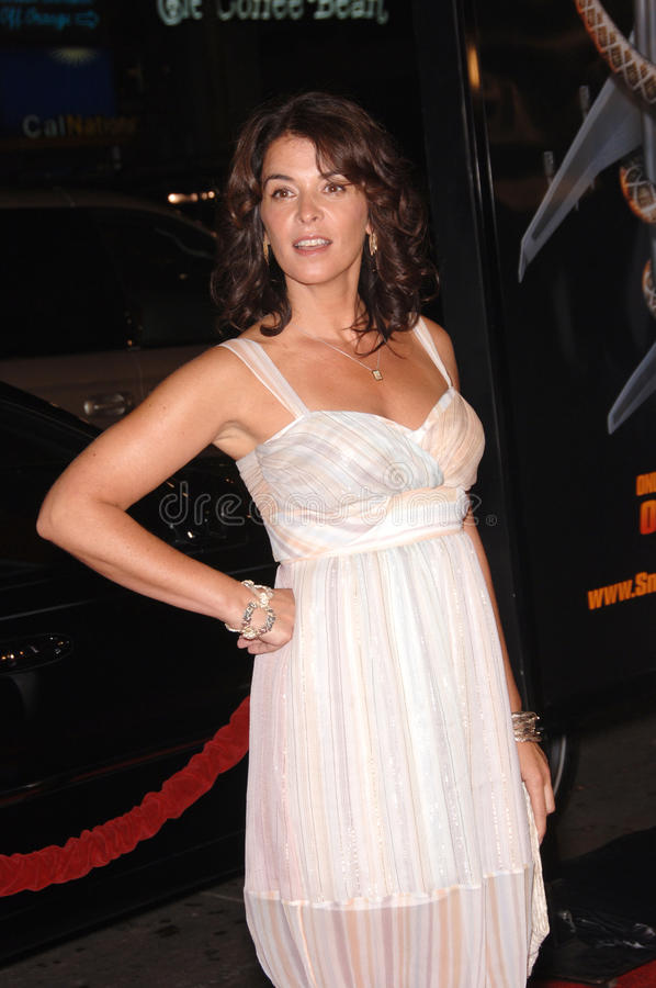 Annabella Sciorra. Actress ANNABELLA SCIORRA at the Los Angeles premiere of Snakes on a Plane at the Chinese Theatre, Hollywood. August 17, 2006 Los Angeles, CA stock images