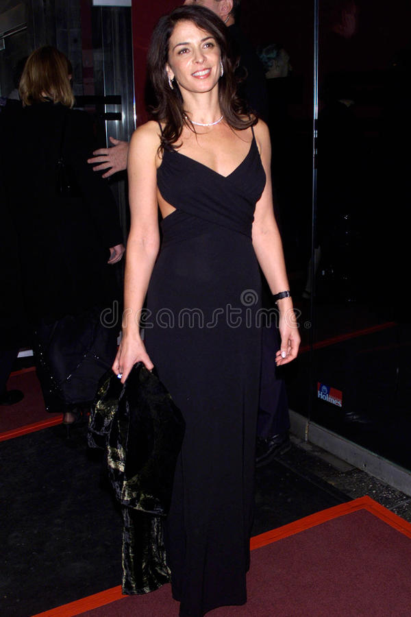 Annabella Sciorra. Actress ANNABELLA SCIORRA at AmFARs 3rd annual Seasons of Hope Awards in New York. 29SEP2000. Terry Lester / Featureflash stock photo