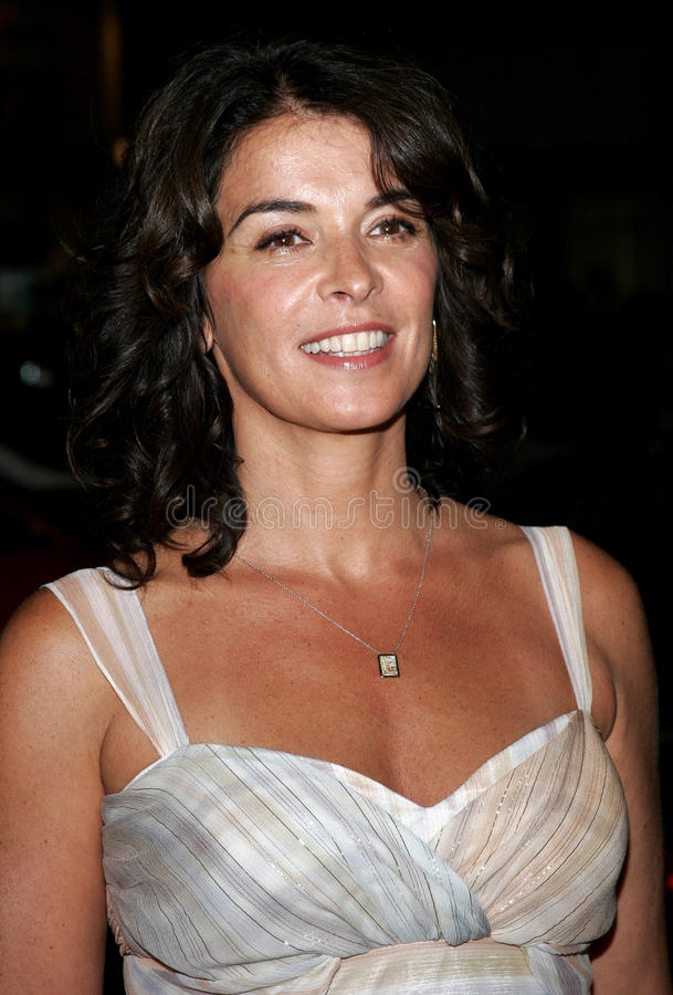 Annabella Sciorra. At the Los Angeles premiere of `Snakes on a Plane` held at the Grauman`s Chinese Theater in Hollywood, USA on August 17, 2006 stock photography