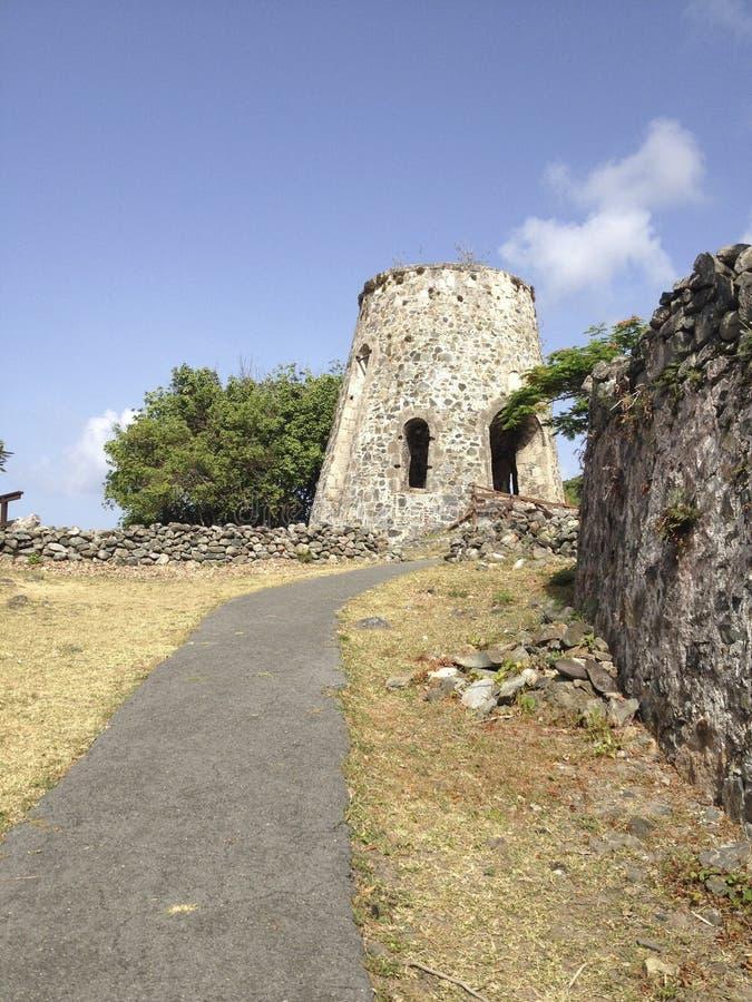 Annaberg Sugar Plantation royalty-vrije stock fotografie