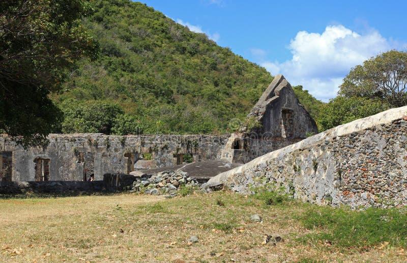 Annaberg Sugar Plantation em St John fotos de stock