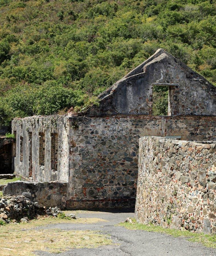 Annaberg Sugar Plantation in St John immagini stock