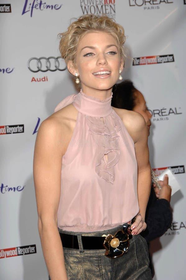 AnnaLynn McCord nas mulheres anuais de Hollywood Reporter no pequeno almoço do entretenimento, hotel de Beverly Hills, Beverly Hil imagem de stock