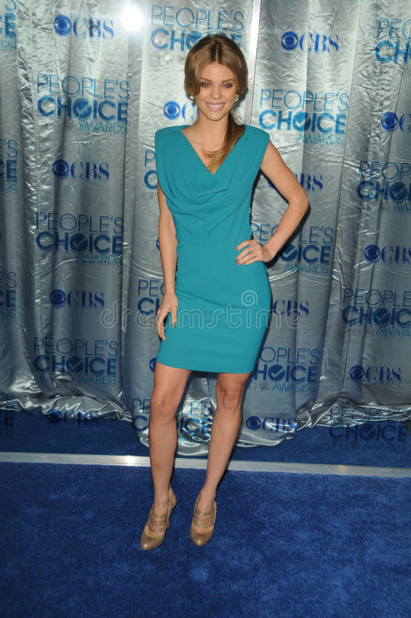 Download AnnaLynne McCord At The 2011 People's Choice Awards - Arrivals, Nokia Theatre, Los Angeles, CA. 01-05-11 Editorial Photography - Image: 25685617