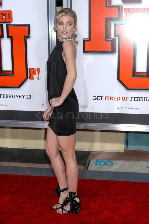 AnnaLynne McCord at the World Premiere of 'Fired Up!'. Pacific Theaters Culver Stadium 12, Culver City, CA. 02-19-09 stock photos