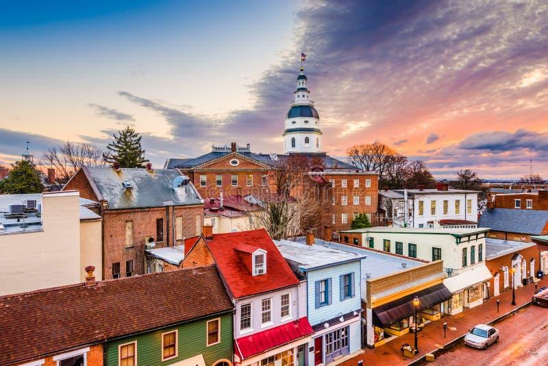 Annapolis, Μέρυλαντ, ΗΠΑ στοκ φωτογραφία με δικαίωμα ελεύθερης χρήσης