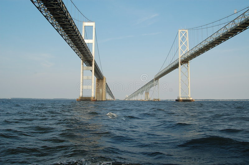 annapolis bay bridge στοκ εικόνα με δικαίωμα ελεύθερης χρήσης
