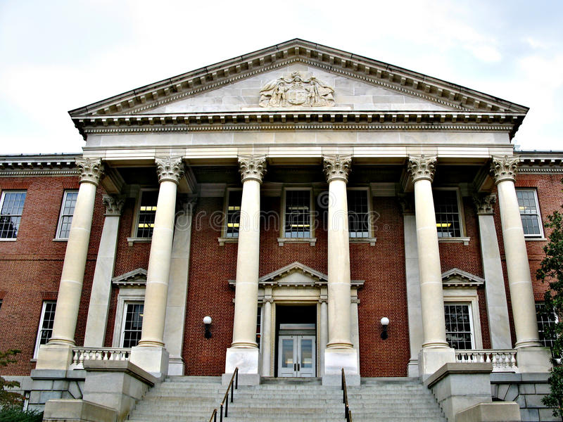Annapolis - een stad in de Verenigde Staten, het kapitaal van Maryland royalty-vrije stock afbeelding
