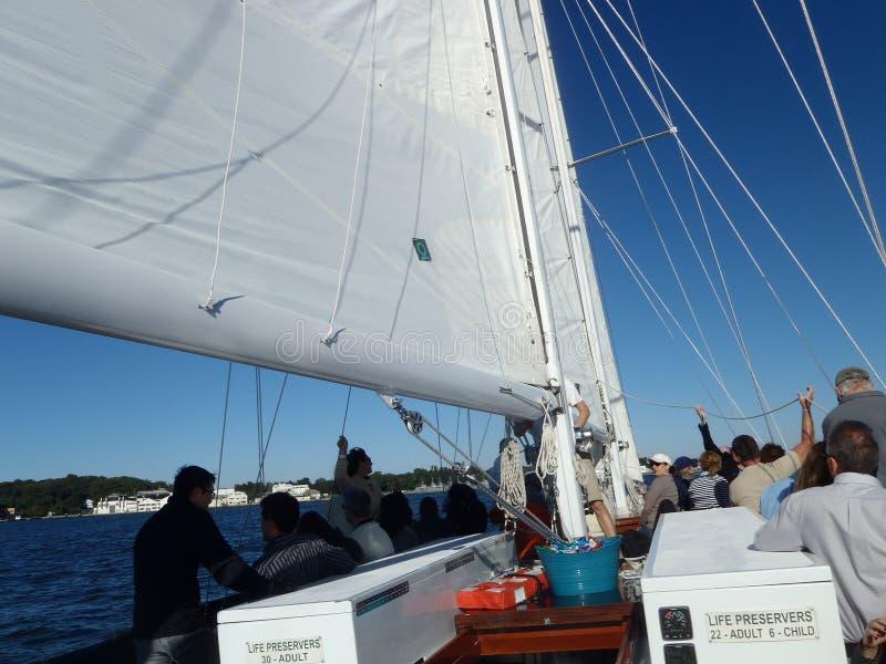 Annapolis en la bahía de Chesapeake imágenes de archivo libres de regalías