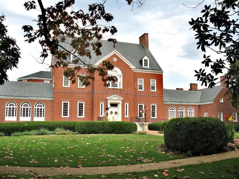 Annapolis - en stad i Förenta staterna, huvudstaden av Maryland royaltyfria bilder