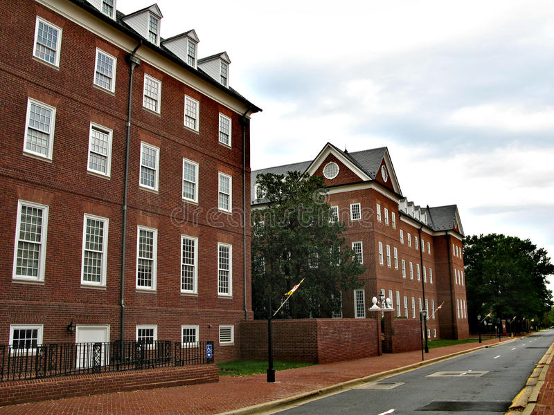 Annapolis - en stad i Förenta staterna, huvudstaden av Maryland royaltyfria foton