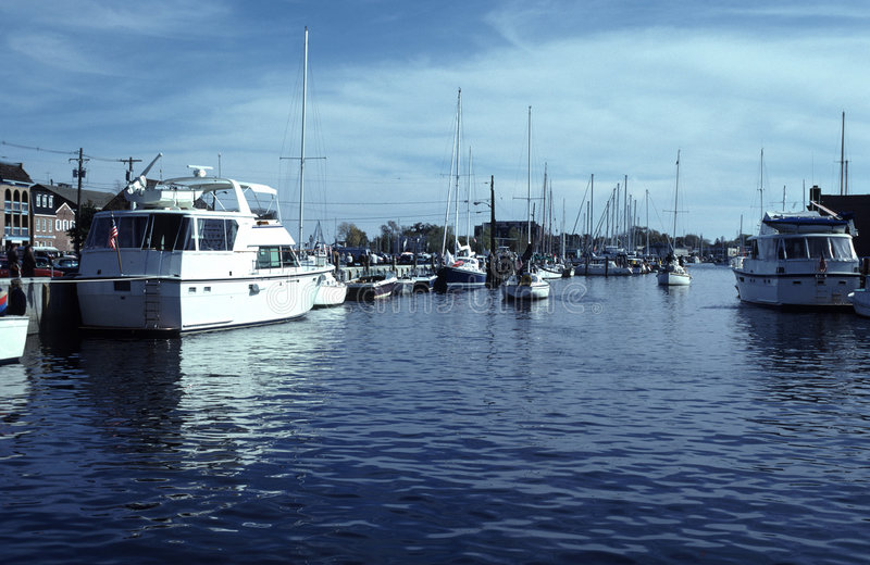 Annapolis Harbour stock image