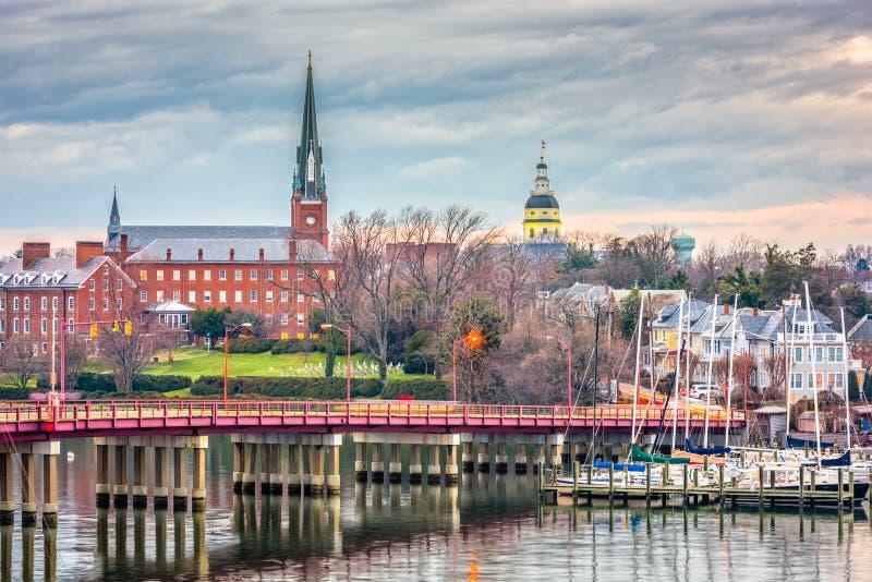 Annapolis, Maryland, U.S.A. fotografie stock libere da diritti