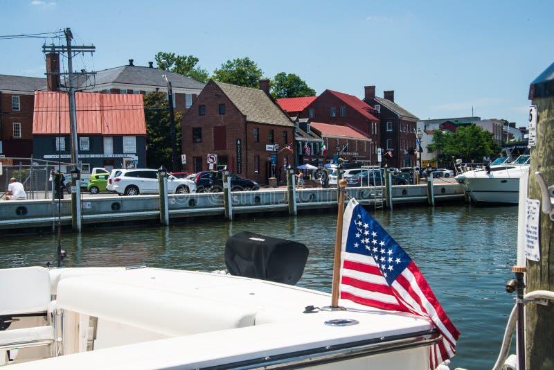 Annapolis nabrzeże obrazy royalty free