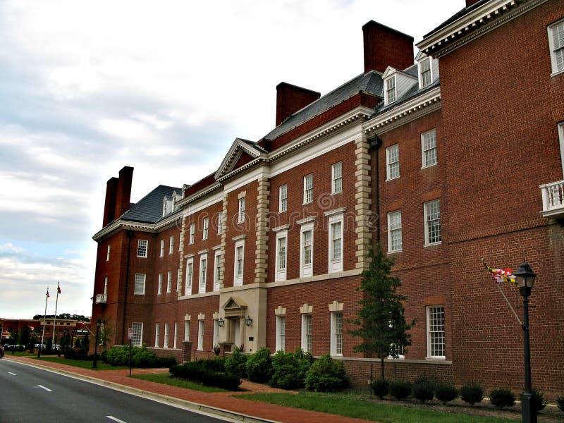 Annapolis - uma cidade no Estados Unidos, a capital de Maryland fotos de stock royalty free