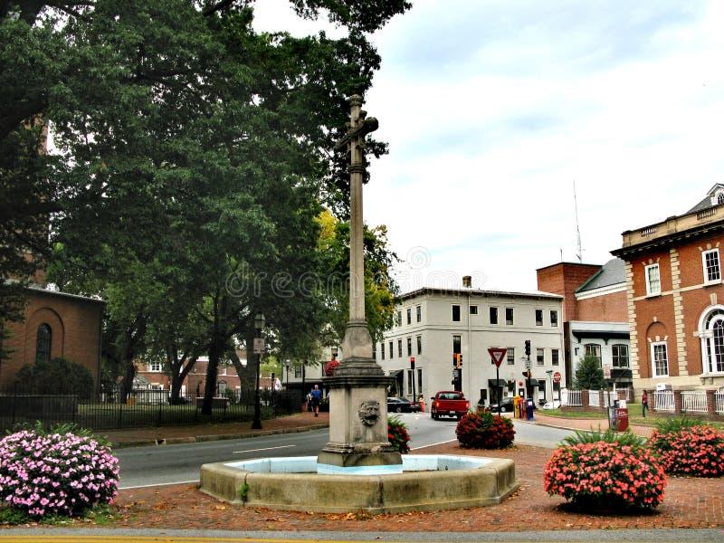 Annapolis - uma cidade no Estados Unidos, a capital de Maryland foto de stock royalty free