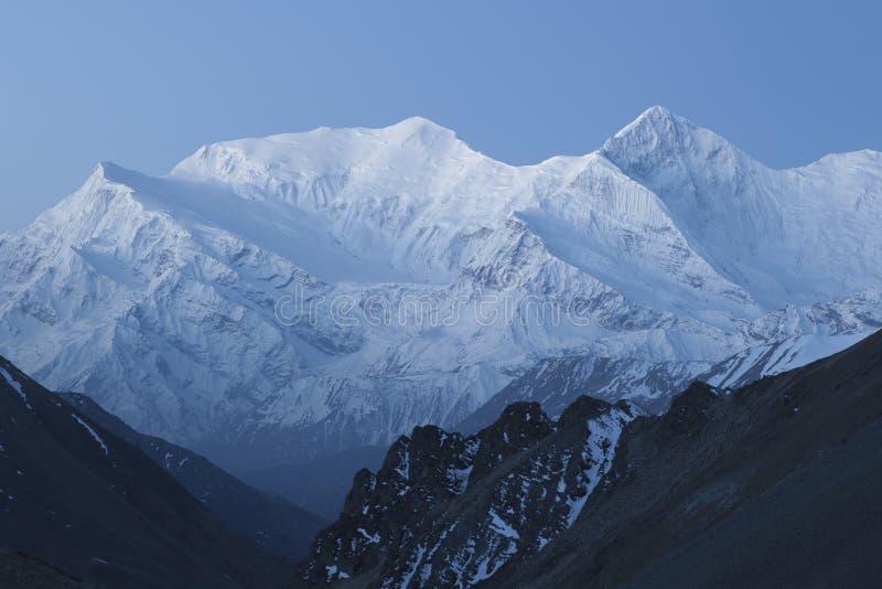 Annapurna范围 图库摄影