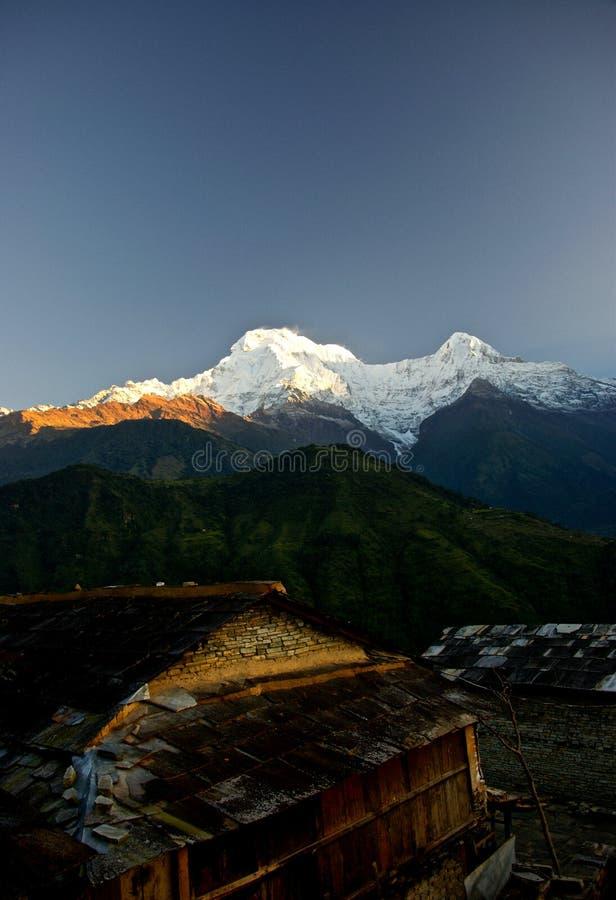 annapurna Ιμαλάια Νεπάλ στοκ εικόνα
