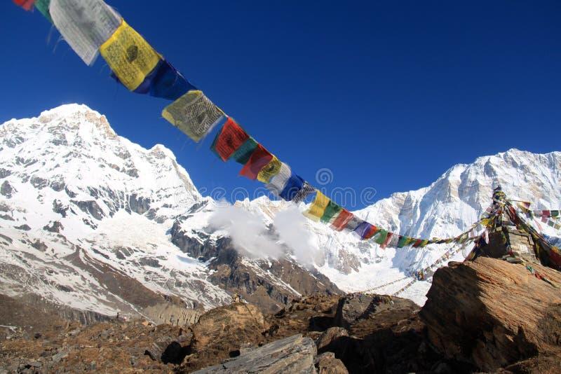 Download Annapurna 1 и юг на красивый день синей птицы Стоковое Фото - изображение насчитывающей назначение, ясность: 40581182