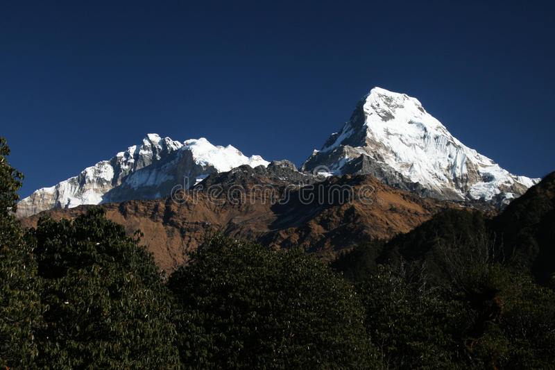 Annapurna fotografia stock
