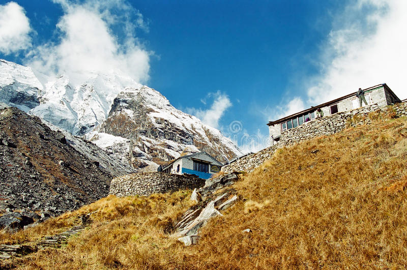 Annapurna Base Camp, Nepal stock photos