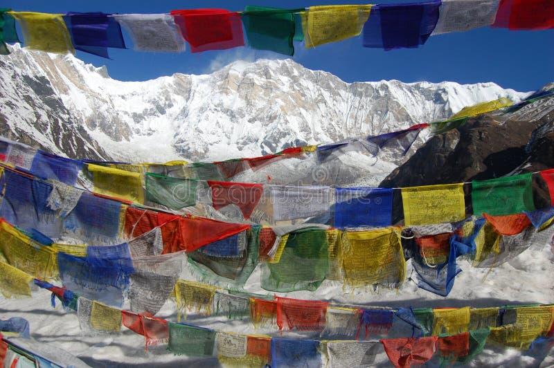 Annapurna Basecamp imagen de archivo