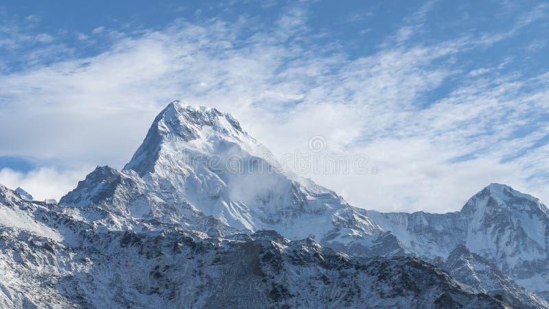 Annapurna berg arkivbild