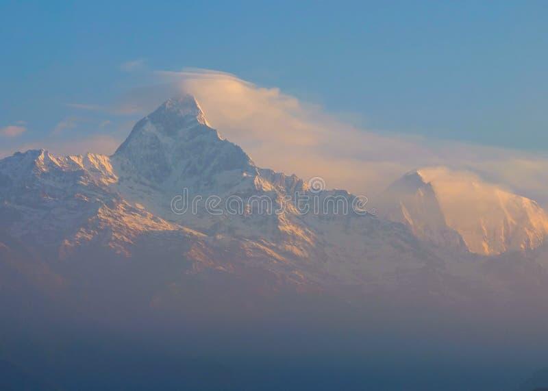 Annapurna Himalaya Népal photos libres de droits