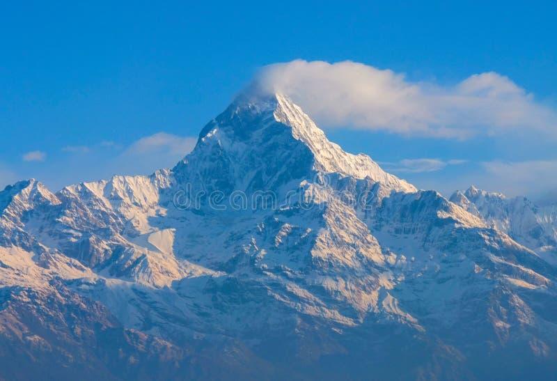 Annapurna Himalaya Népal photo stock