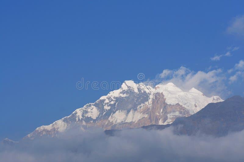 Download Annapurna I stock photo. Image of beautiful, blue, snow - 22435868