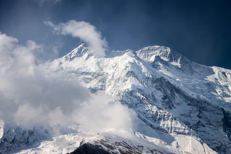 Annapurna II stockfotos