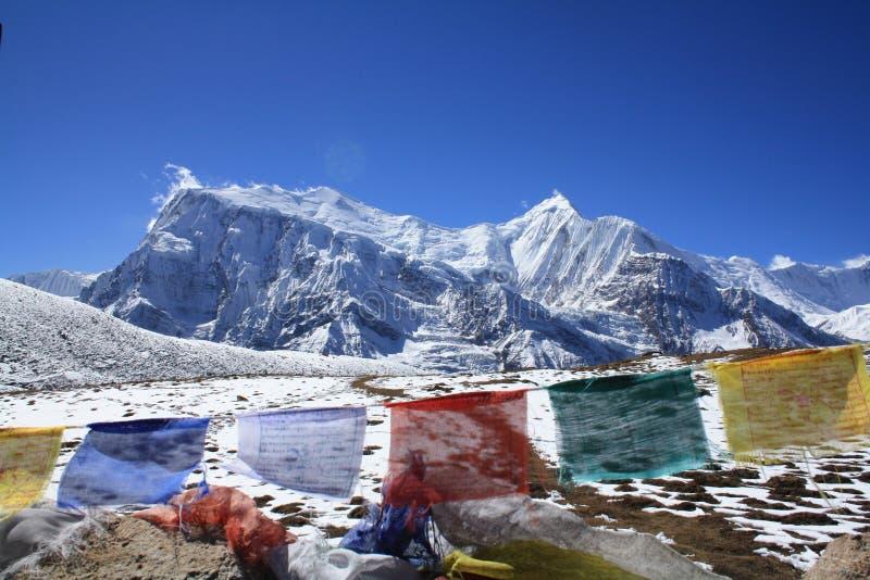 Annapurna III royalty-vrije stock afbeelding
