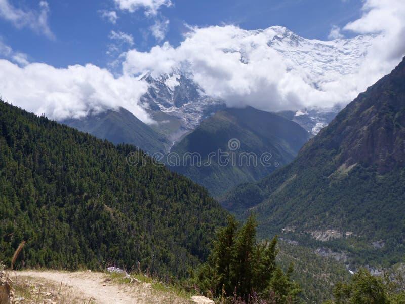 Annapurna 2 stock image