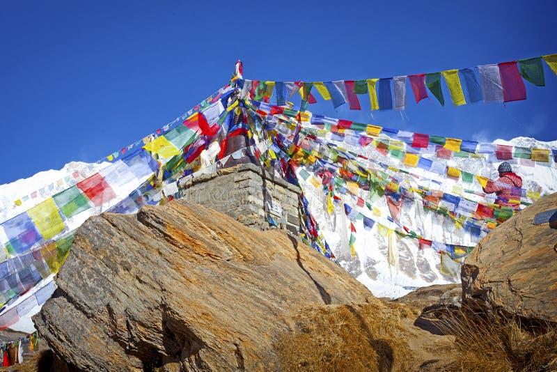 Annapurna obwodu wędrówka fotografia royalty free
