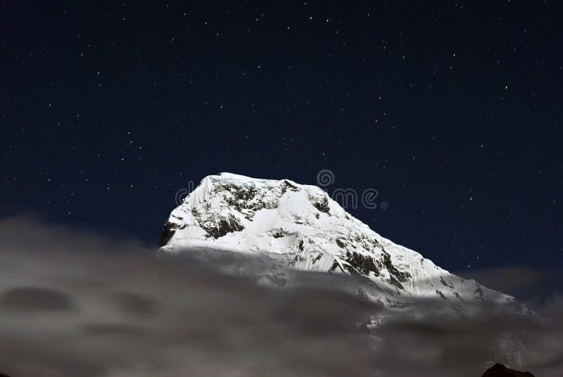 Annapurna South at night,Nepal