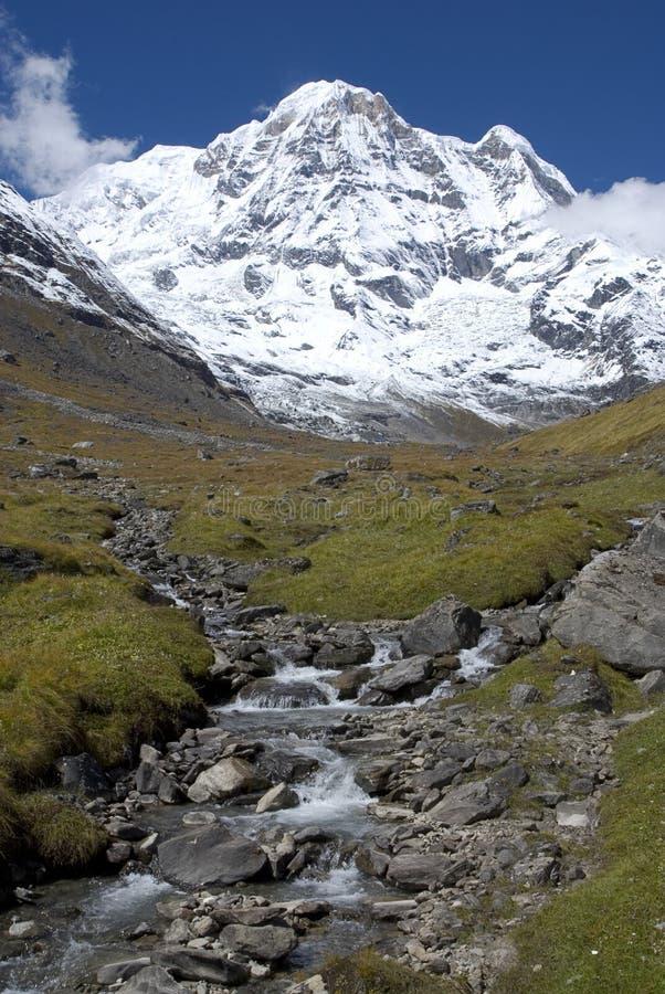Annapurna sul foto de stock