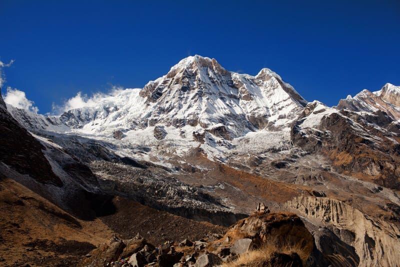 Annapurna sul fotos de stock