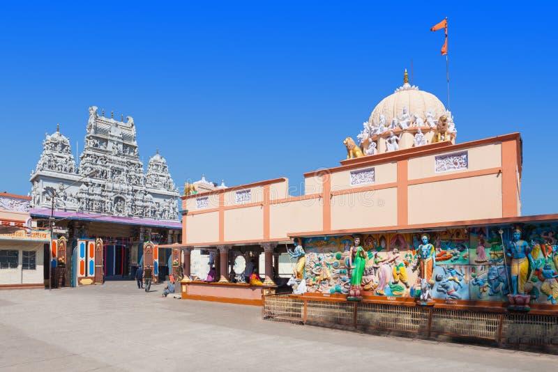 Annapurna tempel, Indore arkivbilder