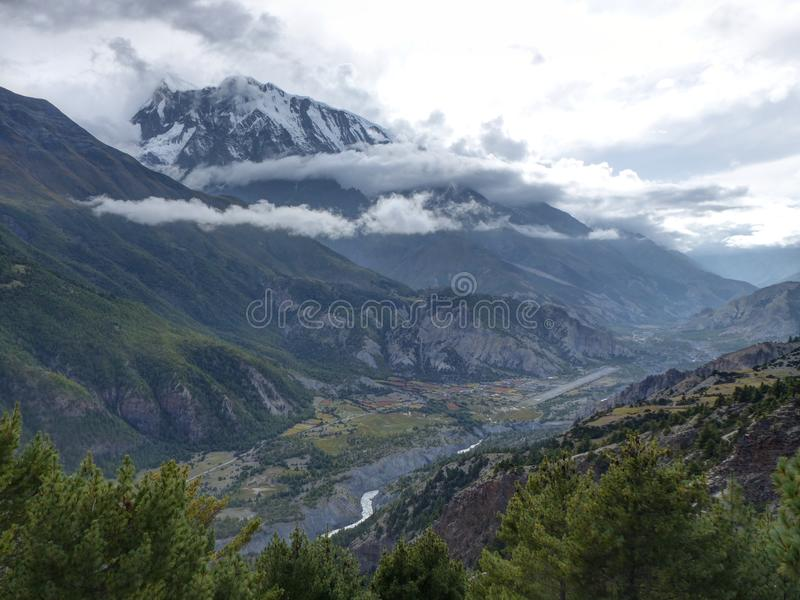 Annapurna 3 stock photos