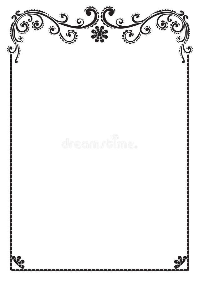 Annata illustrazione vettoriale