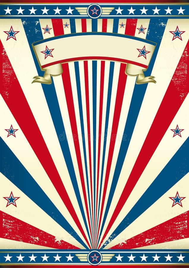 Annata america royalty illustrazione gratis