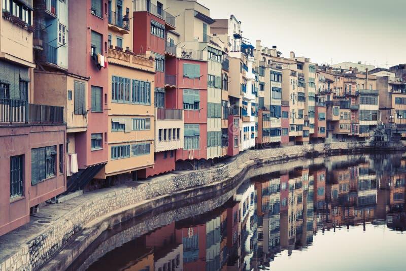 Annata Girona fotografia stock