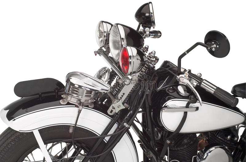 Annata Motorbike immagini stock