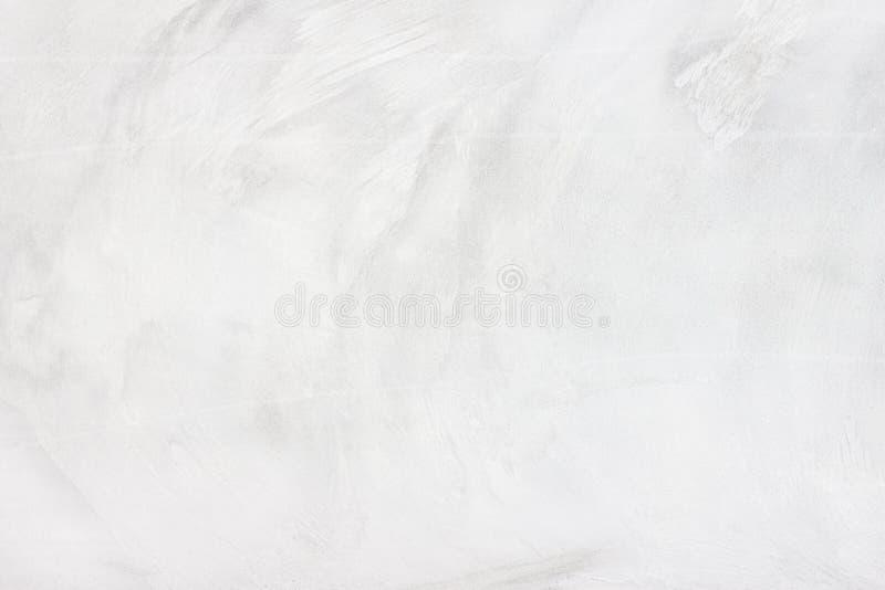 Annata o priorità bassa bianca grungy di cemento naturale o di vecchia struttura di pietra come retro parete del reticolo È un co fotografia stock libera da diritti