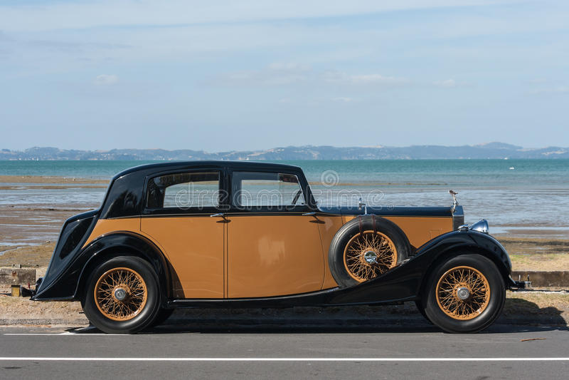 Annata Rolls Royce fotografia stock libera da diritti