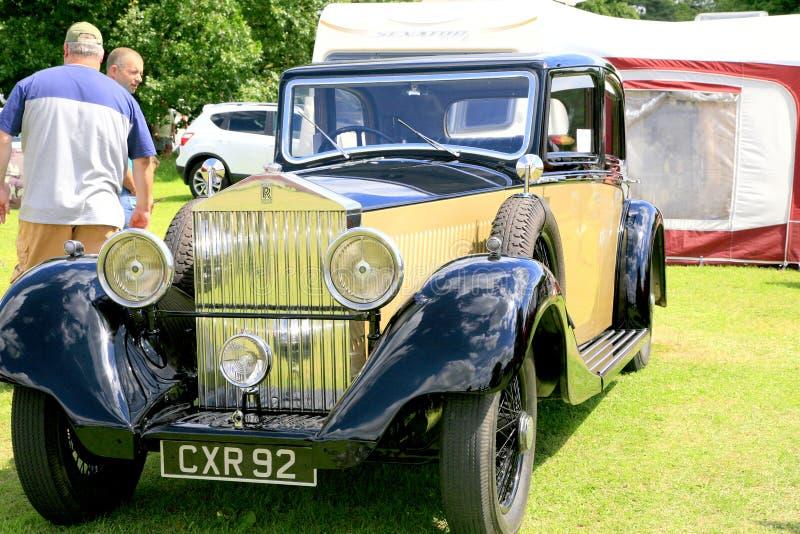 Annata Rolls Royce 1935 20/25 immagini stock libere da diritti
